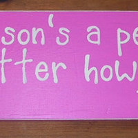 Dr Seuss Quote  Wooden Sign A person's a person no matter how small   Baby Nursery Decor Baby Shower 6 x 18 You Pick Colors