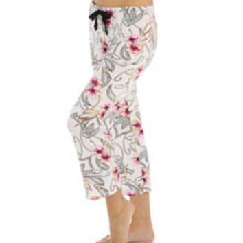 PJ Salvage TTRPCP Luxe Tropical Paisley Pant