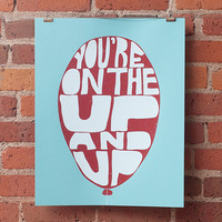 $20.00 Up and Up by johnnyslocum on Etsy