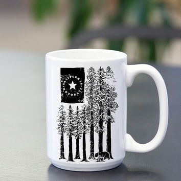 Redwood flag- Mug