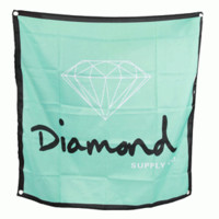 Diamond Supply Co Diamond Banner - Diamond Blue