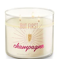 CHAMPAGNE TOAST3-Wick Candle