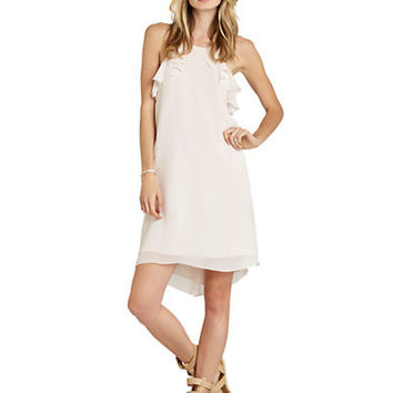 Bcbgeneration Sleeveless Ruffle Flyaway Dress