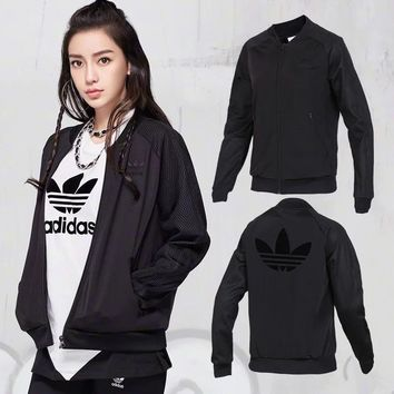 5d40c4f67f7 adidas originals clrdo track jacket black