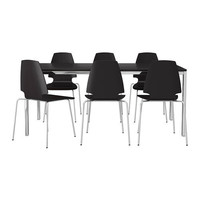 TORSBY/VILMAR Table and 6 chairs   - IKEA