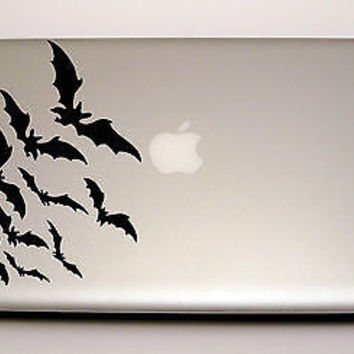 MACBOOK IPAD LAPTOP VINYL STICKER DECAL CUSTOM SIZE NIGHT BATS T168