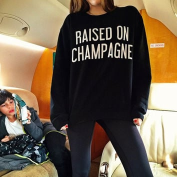 Raised on Champagne Sweater