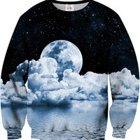 MOON Printed Unisex Sweatshirt