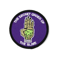 Secret Order Of The Slime Patch (Glow-in-the-Dark)