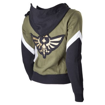 The Legend of Zelda Ladies Zip up Official Hoodie