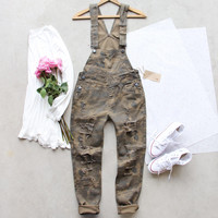 Canyon Sugar Camo Overalls