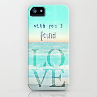 LOVE iPhone Case by M✿nika  Strigel	 | Society6