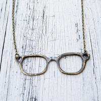 $12.50 Eyeglass Necklace by JageinaCage on Etsy