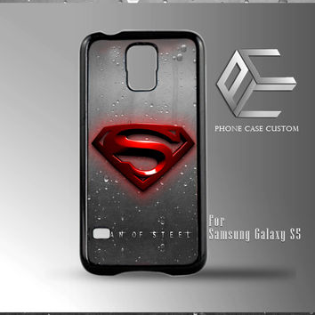 Superman Man of Steel Logo case for iPhone, iPod, Samsung Galaxy