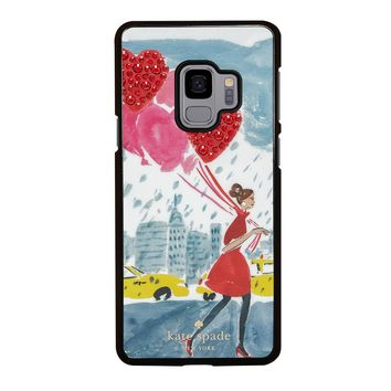 KATE SPADE BALLOON Samsung Galaxy S3 S4 S5 S6 S7 S8 S9 Edge Plus Note 3 4 5 8 Case