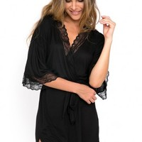 Eberjey - Georgette Short Robe
