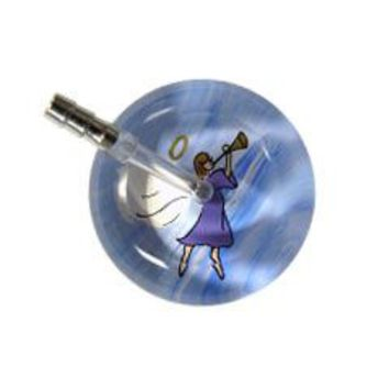 UltraScope Single Stethoscope Angel with Trumpet Lavender