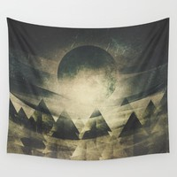 We are children of the moon Wall Tapestry by HappyMelvin | Society6