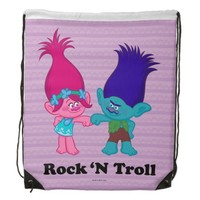 Trolls | Poppy & Branch - Rock 'N Troll Drawstring Bag