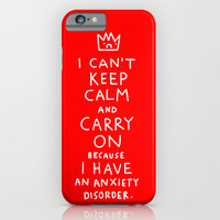 i broke an promise to myself to never make one of these stupid posters iPhone & iPod Case by Gemma Correll