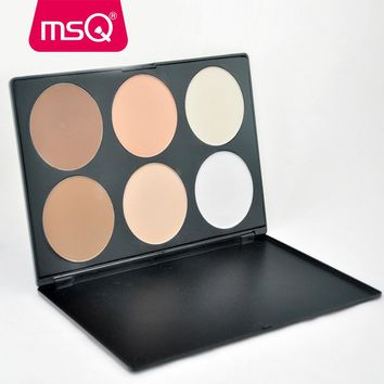 MSQ Professional Gorgeous 6 Colors Makeup concealer
