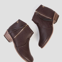 Dorado Booties In Brown
