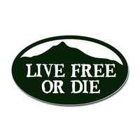 Live Free or Die Decal