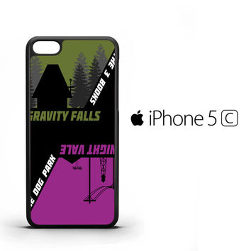 The Book Gravity Falls The Dog Night Vale B0168 iPhone 5C Case