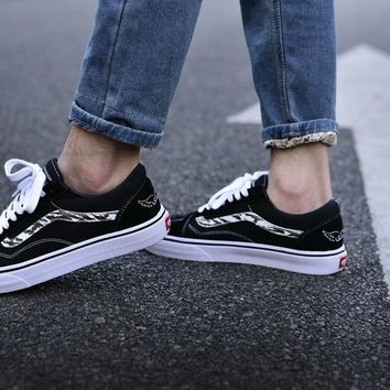 "SBTG x Vans Vault Old Skool LX ""Ghost Fury"" 35--44"