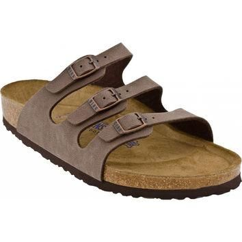 Women's Florida Sandal in Mocha by Birkenstock