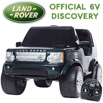 Licensed Kids 6v Land Rover Discovery Jeep Ride On With Remote - £249.95 : Kids Electric Cars, Little Cars for Little People
