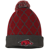 Arkansas Razorbacks Top of the World Women's Diamond Dust Knit Hat - Cardinal