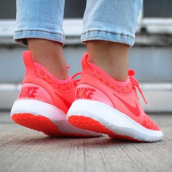 NIKE WMNS JUVENATE (HOT LAVA / BRIGHT CRIMSON - WHITE)
