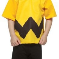 Child Charlie Brown Costume Size 3T-4T