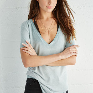 Me To We Mineral Wash V-Neck T-Shirt at PacSun.com