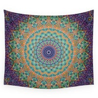 Society6 Travel Into Dimensions Mandala. Wall Tapestry