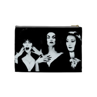 Ghoul Girls Elvira, Vampira and Morticia Makeup Bag