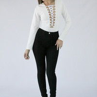 Treasure High Waist Jeans - APHRODITE