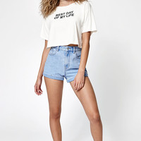 Desert Dreamer Best Day Of My Life Cropped T-Shirt at PacSun.com