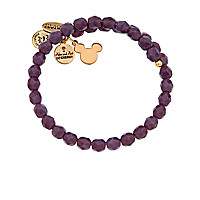 Mickey Mouse Icon Grape Bohemian Jewel Wrap by Alex and Ani