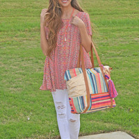 Vibrant Vibes Tote