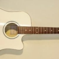 New Russian Ukrainian Classical Acoustic White 6 String Guitar High Quality! 62