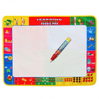 Fashion Children Kids Drawing Water Pen Painting Mat Board Boy Girl Toy