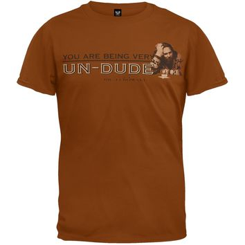 Big Lebowski - Being Undude T-Shirt