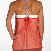 BKE Boutique Embellished Tank Top - Women's Shirts/Tops | Buckle