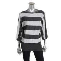 Style & Co. Womens Knit Dolman Pullover Sweater