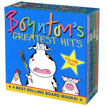 Boynton's Greatest Hits: The Going to Bed Book, Horns to Toes, Opposites, but Not the Hippopotamus