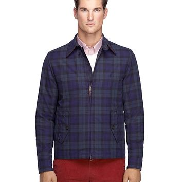 Plaid Button-Down Collar Jacket - Brooks Brothers
