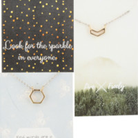 Single Shape Charm | Inspirational Charm Necklaces