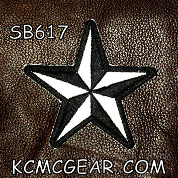 REFLECTIVE STAR Small Badge Patch for Vest jacket SB617